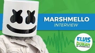 Elvis Duran's Silent AF Interview With Marshmello   Elvis Duran Show