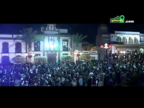 Resumen de la Cabalgata de Reyes Magos de Gines 2015