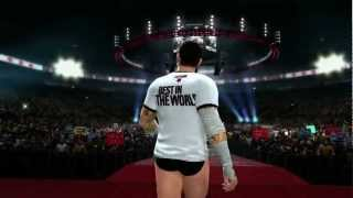 CM Punk Makes His Entrance In WWE '13 (Official)
