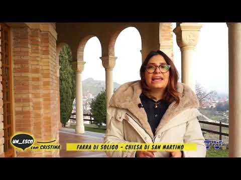 Un_esco con Cristina - Farra di Soligo Chiesa di San Martino
