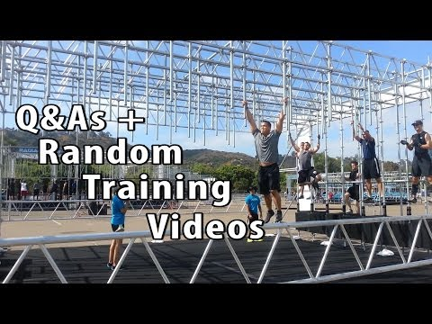 QnA, Alpha Warrior, Sprinting and Random Training