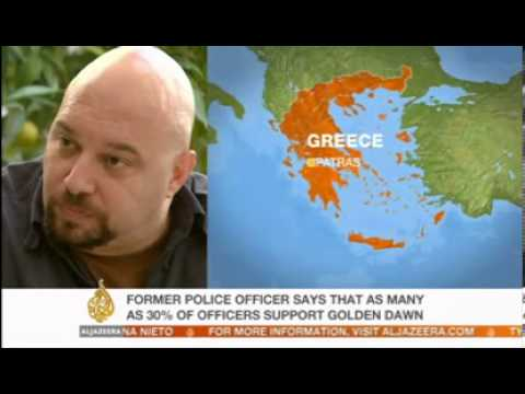 Greek Police & Golden Dawn Right Wing, Interview- 2nd Dec 2012