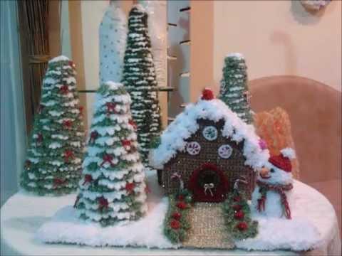 Χριστουγεννιάτικα πλεκτά/Crochet Christmas Decorations