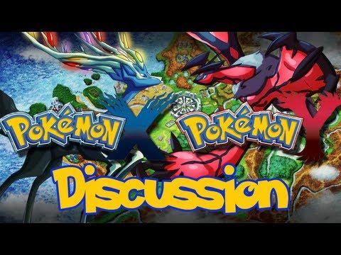 Pokemon X/Y - Pokemon X and Y: Pokemon X/Y Discussion LiveStream ft. Giancarloparimango11