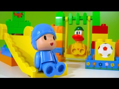 Pocoyo Park NEW Block Labo World Block Bandai