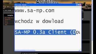 Najlatwiejsze Pobieranie GTA SAMP(Jak Pobrac GTA SA-MP