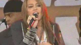 Miley Cyrus - I Thought I Lost You (live)