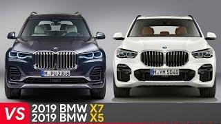 2019 BMW X7 Vs X5 ► Design & Dimensions Comparison