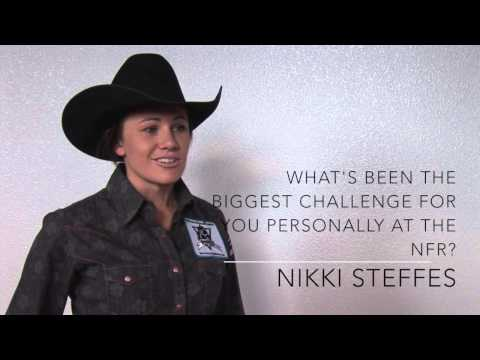 2012 BHN NFR Interview with Nikki Steffes