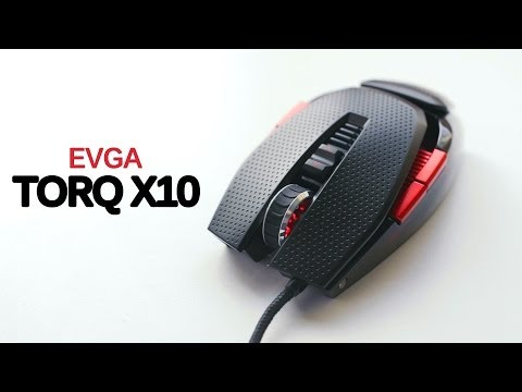 EVGA's First Gaming Mouse - TORQ X10 Review