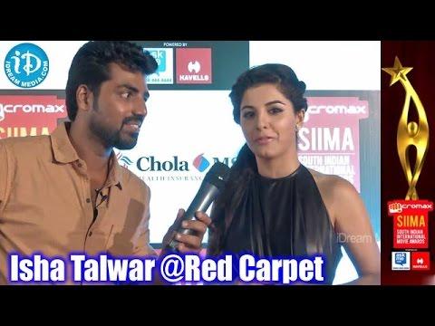 Isha Talwar Speaks Funny Malayalam@SIIMA 2014