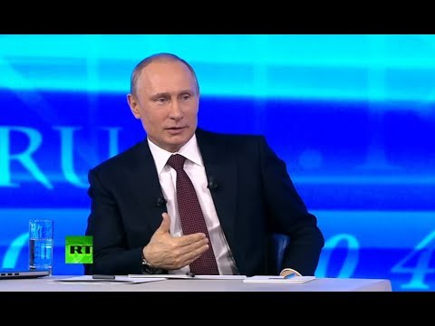 Putin: Crimean 'little green men' were Russian servicemen, helped ensure true referendum