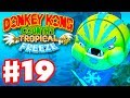 Donkey Kong Country: Tropical Freeze - Gameplay Walkthrough Part 19 - World 4: Boss Fight 100%