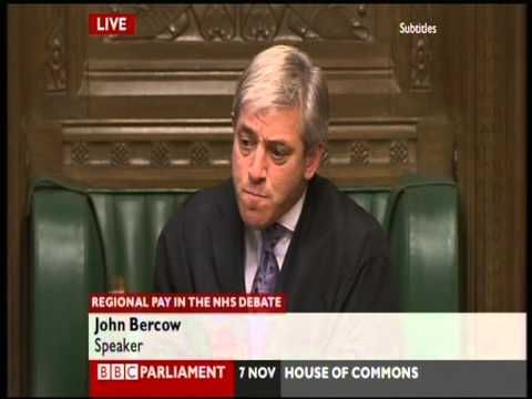 Speaker John Bercow - how not to be Speaker