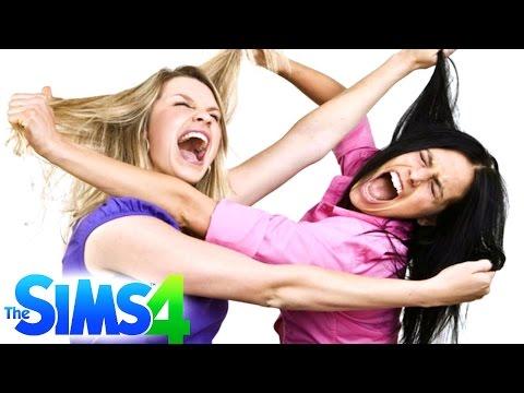 PELEA, PELEA, PELEA! | Los Sims (8) - JuegaGerman
