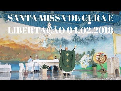 Santa Missa de Cura | 5° Domingo do Tempo Comum | 04.02.2018 | Padre José Sometti | ANSPAZ