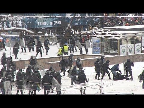 Зачистка улицы Грушевского