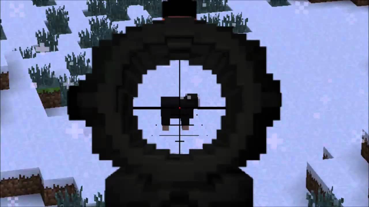 Minecraft Sniper Mod 1 6 4 For Flans Mod Youtube