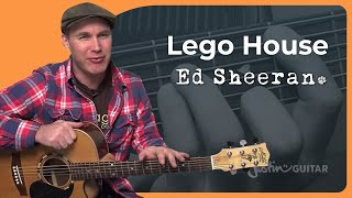 How To Play Lego House By Ed Sheeran (Acoustic Guitar