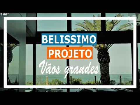 Grandes Vãos São Destaque em Belíssimo Projeto no Litoral Catarinense