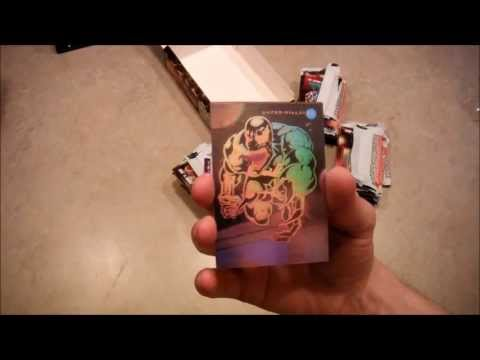 Marvel Universe Trading Cards - Series III Unboxing
