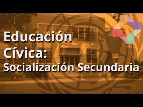 Socialización Secundaria - Educación Cívica - Educatina