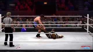 WWE Night Of Champions 2014 Mark Henry vs Rusev Result!