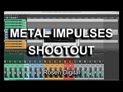 Metal Impulses Shootout - Rosen Digital vs. AmpliTube 3 vs. Recabinet 4