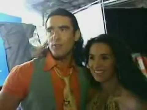 Los Niños Cathy siachoque y Miguel Varoni