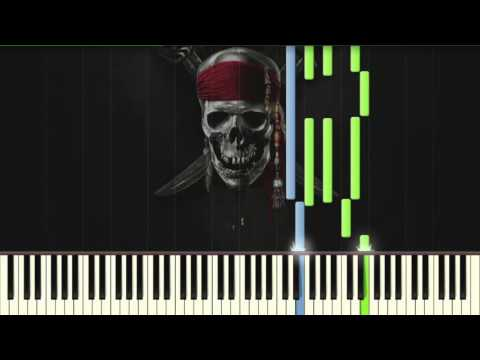 pirates of the caribbean theme song piano sheet music pdf