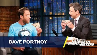 Dave Portnoy and Seth Meyers Give One-Bite Pizza Reviews