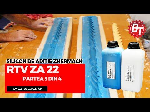 Realizare matrita flexibila din silicon RTV-ZA22  - Lumanare de cununie - Partea 3 din 4