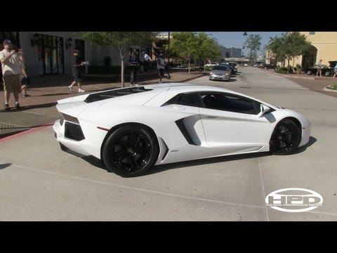 Lamborghini Aventador - Coffee and Cars