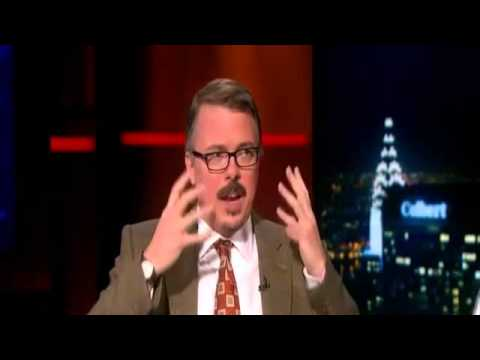 Breaking Bad creator Vince Gilligan Interview on The Colbert Report with Stephen Colbert (2013)