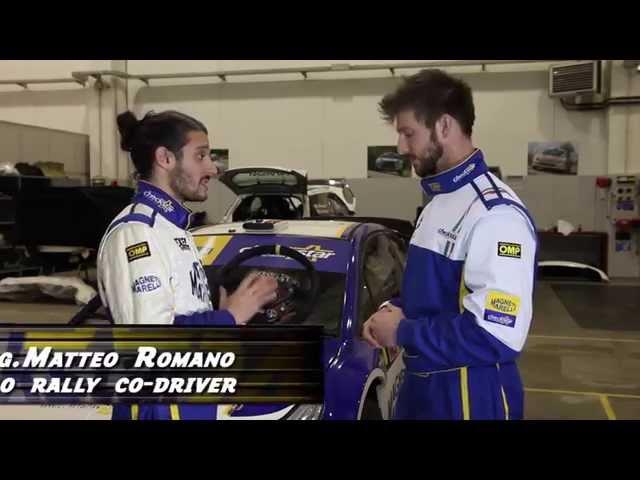 Le funzioni del volante nel Rally