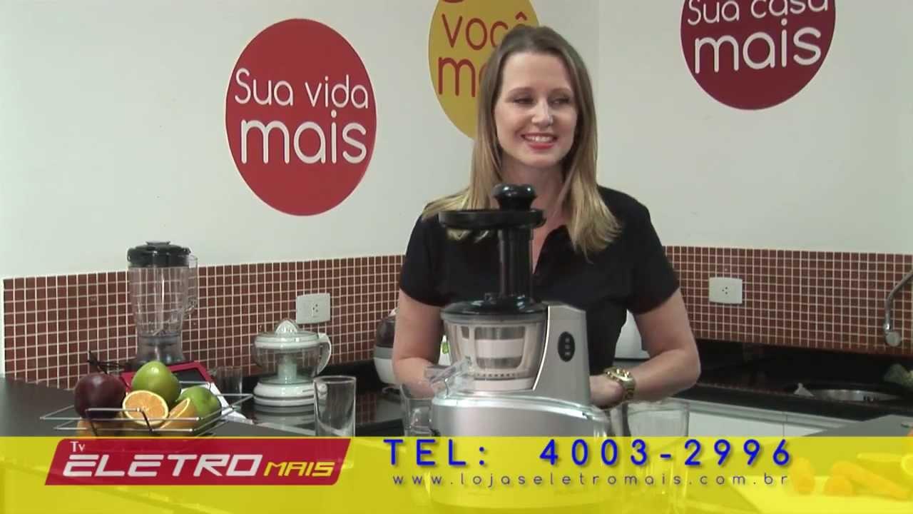 Centrifuga Slow Juicer SJ01- Mondial - YouTube