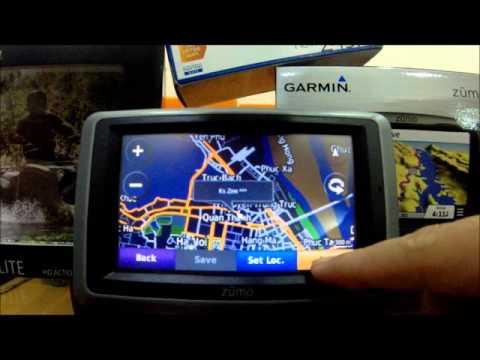 Zumo 660 - Giả lập tín hiệu tại Hà Nội và tìm kiếm POI Hotel