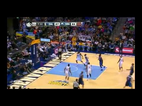 NBA CIRCLE - Dallas Mavericks Vs Denver Nuggets Highlights 23 Nov. 2013 www.nbacircle.com