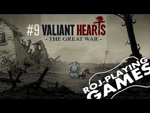 Valiant Hearts: The Great War (9/10) Na ratunek rodzinie (Roj-Playing Games!)
