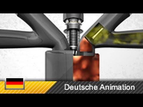 viertaktmotor 4 takt motor ottomotor funktion animation youtube. Black Bedroom Furniture Sets. Home Design Ideas