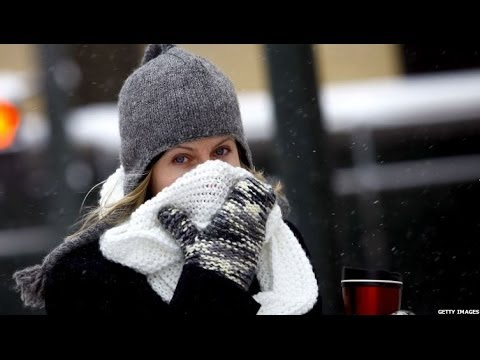 POLAR VORTEX 'IT'S A COLD HELL.YOUR EYEBALLS COULD FREEZE' - BBC NEWS