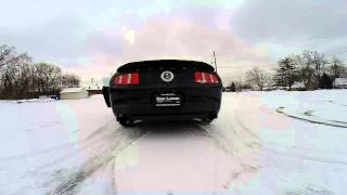 Donuts In The Snow 2015 Ford Mustang Shelby GT500 Burn Out