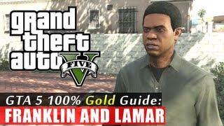 GTA 5 Walkthrough: Franklin and Lamar (100% Gold Completion) HD