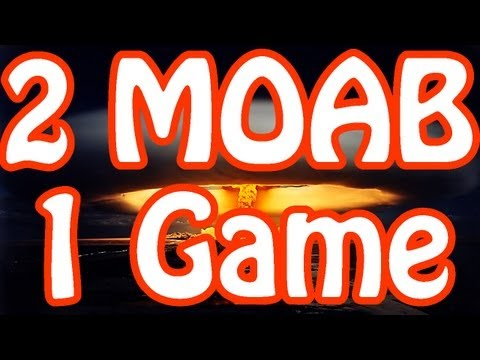 MW3: FIRST 2 MOABs in 1 GAME (72-6) by EnadZT [Modern Warfare 3 Domination Gameplay/Commentary]
