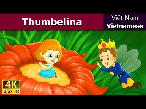 Thumbelina Cô Bé Tí Hon - Chuyện thiếu nhi - Chuyện cổ tích - 4K UHD - Vietnamese Fairy Tales