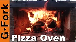 Easy DIY Brick Pizza Oven : GardenFork.TV