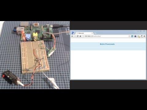 Websocket en Raspberry PI, con PHP y Python