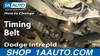 How To Change A Timing Belt Dodge Intrepid 95-97 Part 1