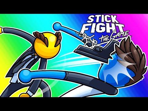 Stick Fight Funny Moments - John Wick Tree