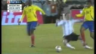Argentina 1 Ecuador 1 Eliminatorias Sudafrica 2010